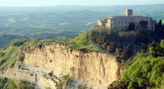 "Volterra and its ""Balze"""