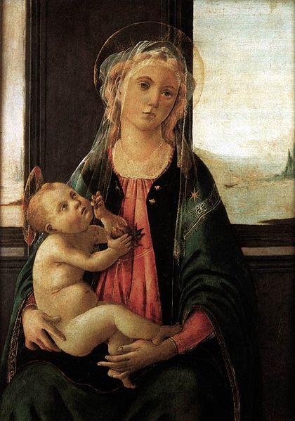 Madonna of the sea - Botticelli