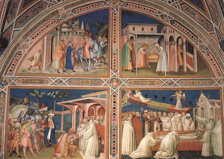 Life of Saint Benedict, Church of San Miniato a Monte