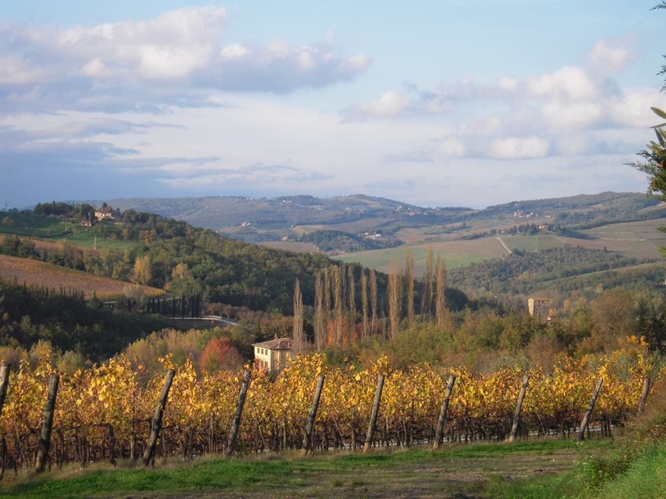 Tuscany in autumn photos