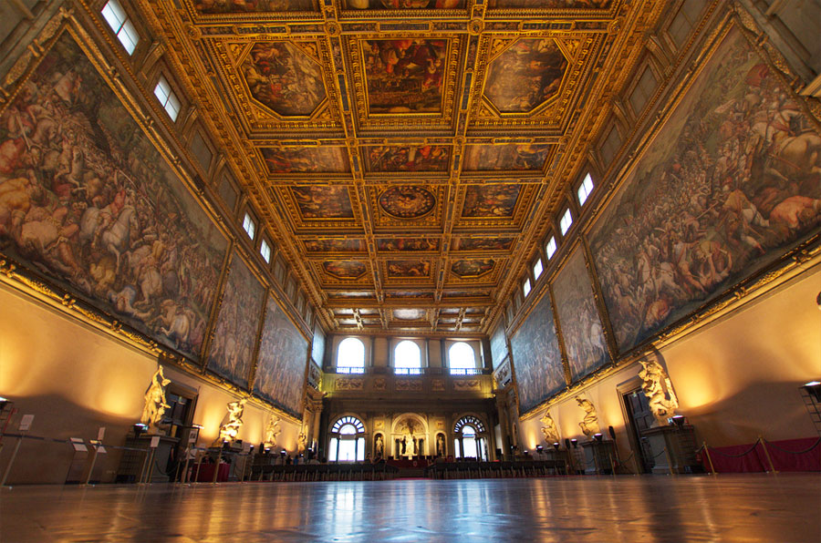 Secret passages in Palazzo Vecchio