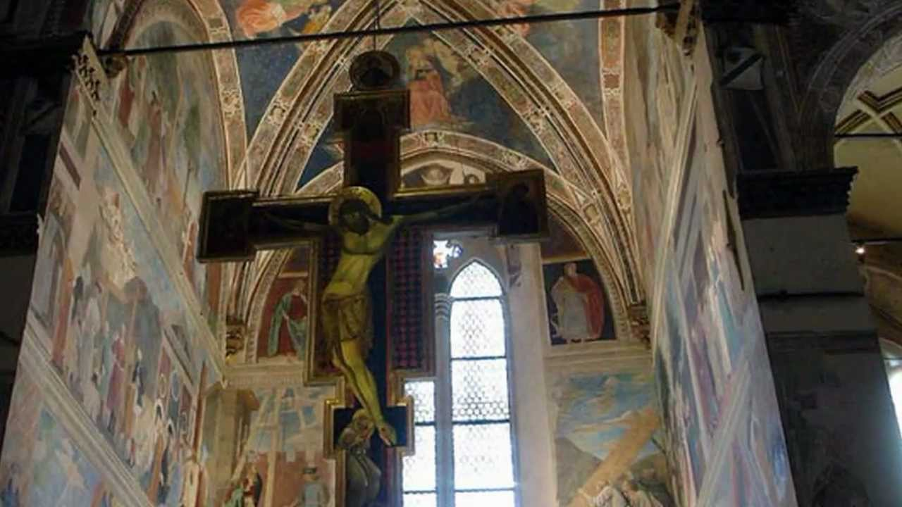 legendo of the true cross fresco cycle