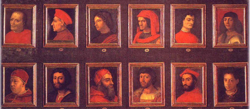 Medici family history