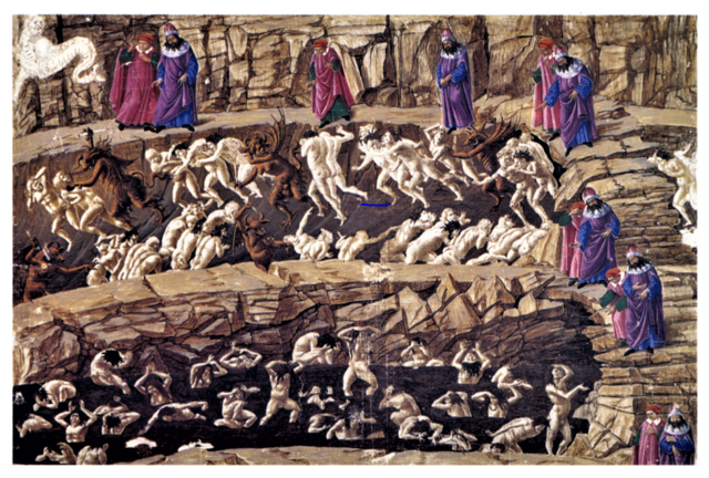 botticelli Map of Hell