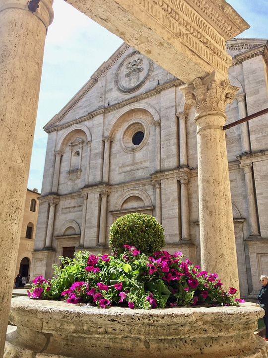 val d'orcia itinerary