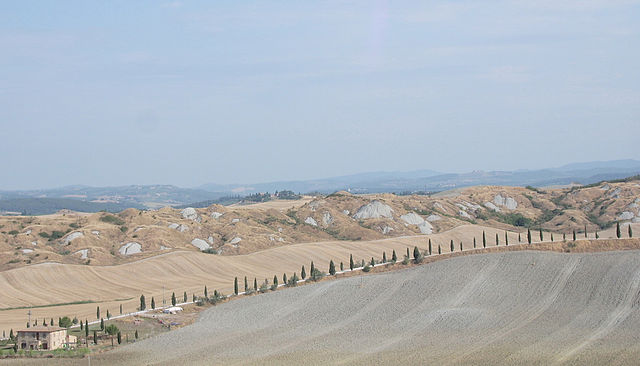 unexpected tuscany landscapes