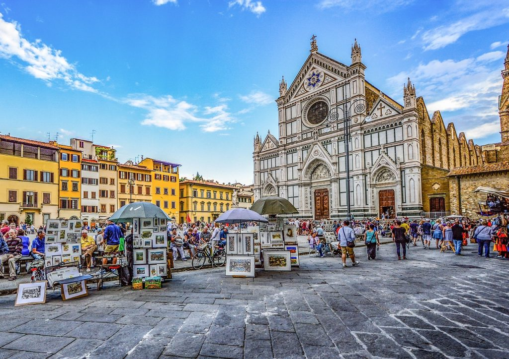 best squares in florence