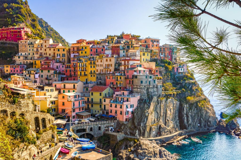 summer destinations in italy