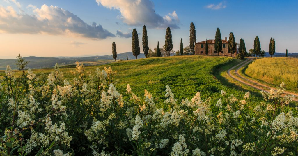 tuscany in may