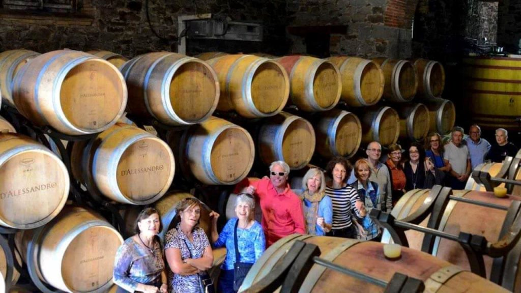 wine & cooking under the tuscan sun
