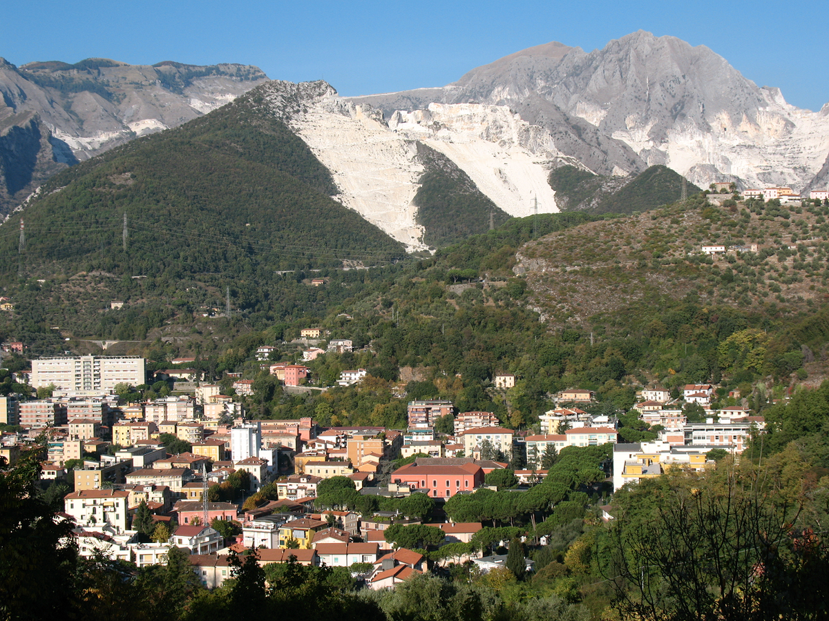 Carrara, Tuscany, Italy What to see Love from Tuscany
