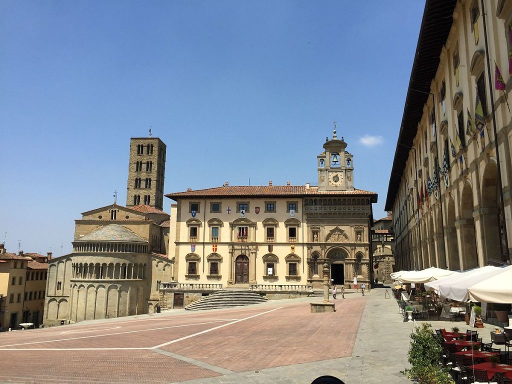 one day in arezzo