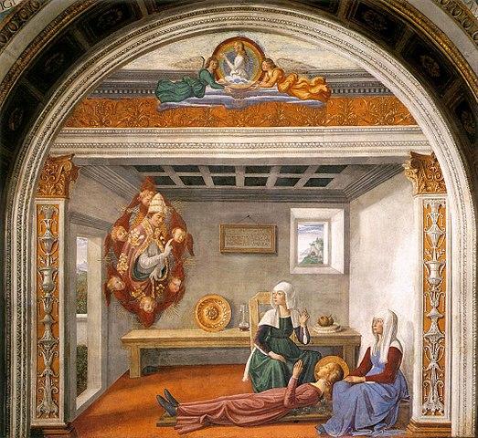 santa fina chapel Ghirlandaio