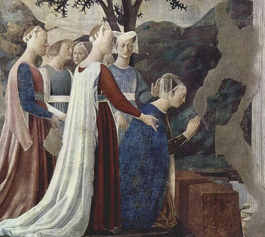 legend of the true cross fresco cycle piero della Francesca