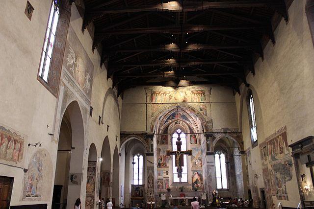 legend of the true cross fresco cycle