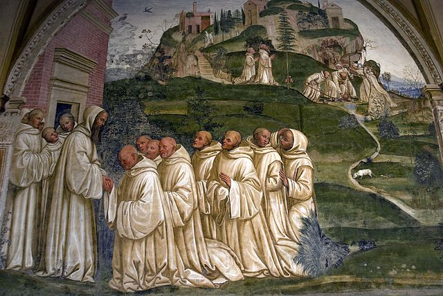 monte Oliveto Maggiore monastery