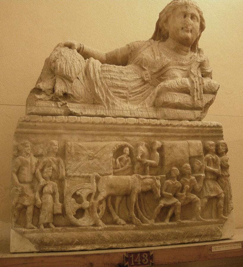 Guarnacci etruscan museum volterra