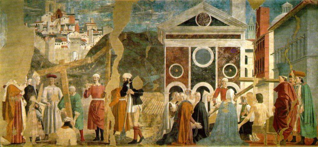 legend of the true cross fresco cycle Piero della Francesca