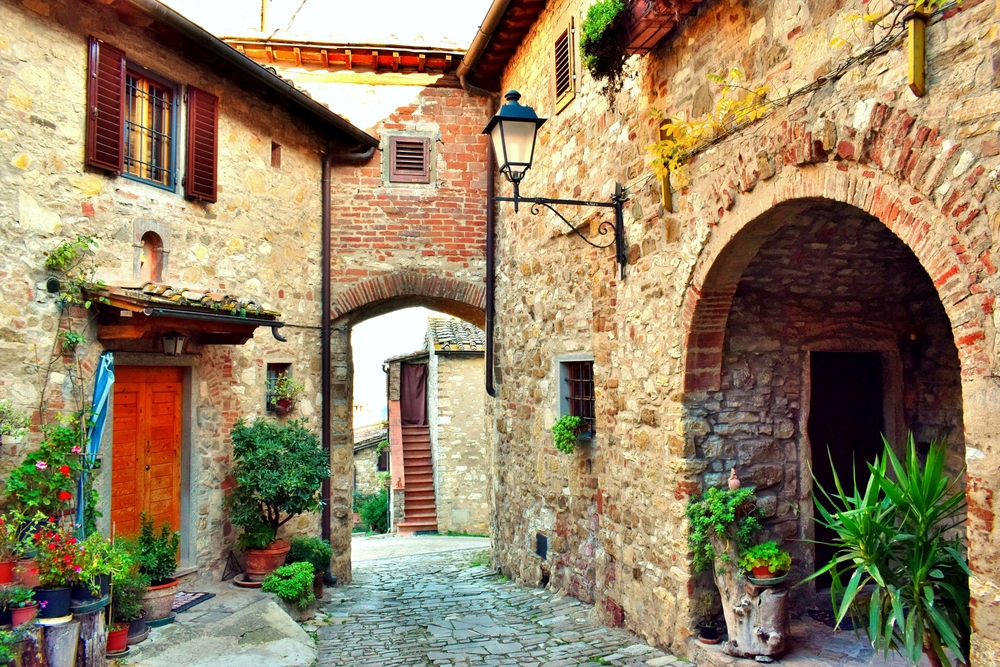 Finding the most picturesque villages in Tuscany