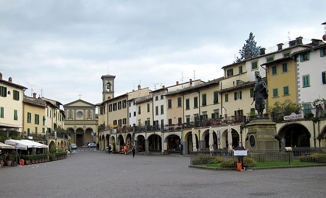 Small towns in the Chianti