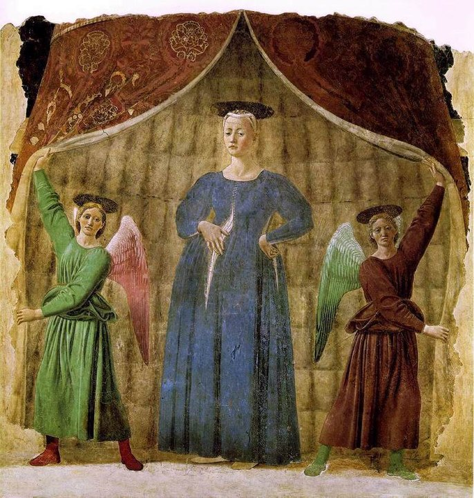 piero della francesca artwork in tuscany