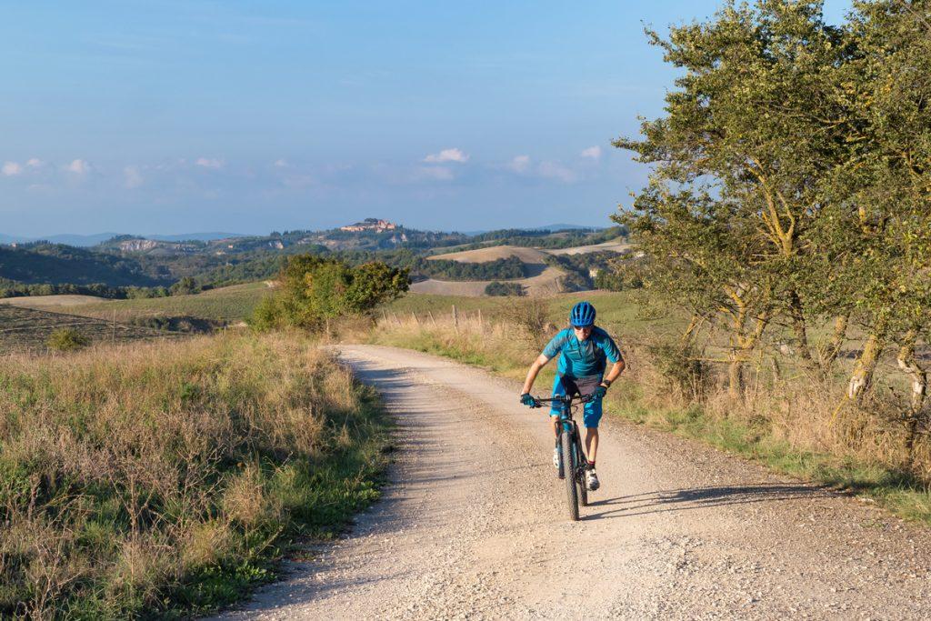 cycling white roads tuscany