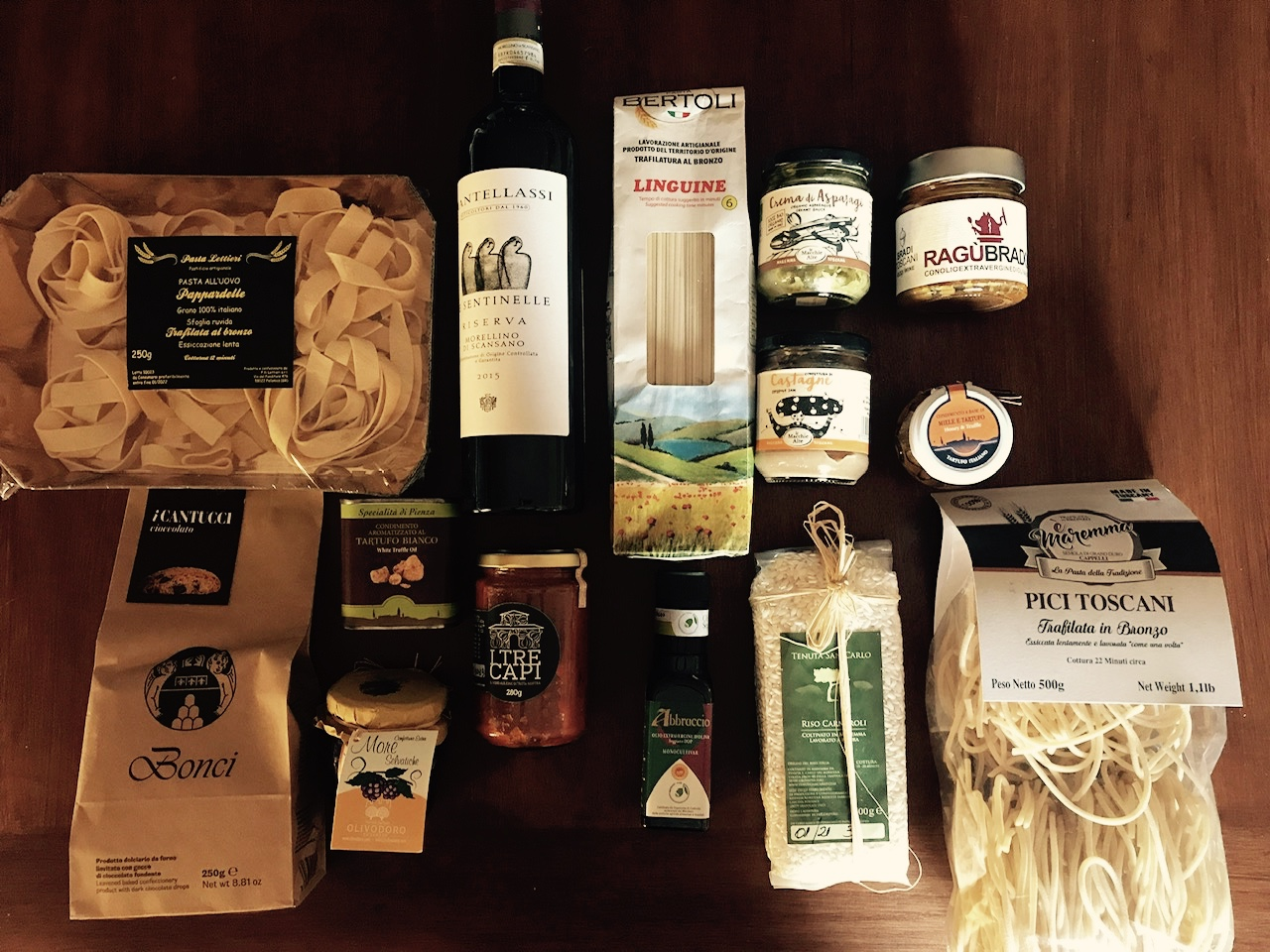 Passione Toscana. Delivering the Finest Food and Wine from Tuscany